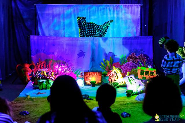 Интерактивный Бэби театр - это не просто детский театр! Это новый самостоятельный театральный жанр.