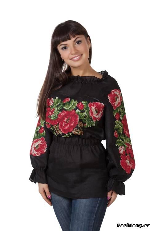 Блузка Вишита Бісером В Екатеринбурге