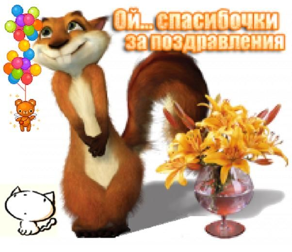 Ответ на поздравление с днем рождения прикольные в прозе