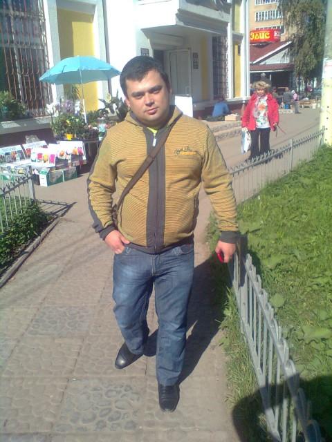 Юрий, Россия, Юрьевец, 40 лет