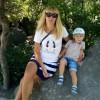 Знакомство с матерью-одиночкой c ребенком. Россия, Ялта, Юлия