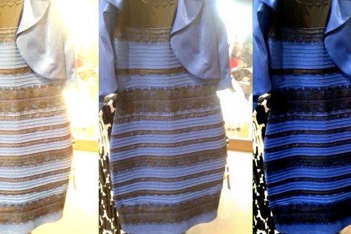 Какого цвета платья вы видите