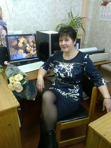 Young at heart the old lady Lyudmila Grigoreva, 58 years old, from Belarus, Minsk