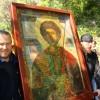Вынос иконы Георгия болгарский монастырь Зограф
