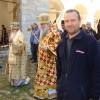 Общее богослужение русского и болгарского владык  , болгарский монастырь Зограф