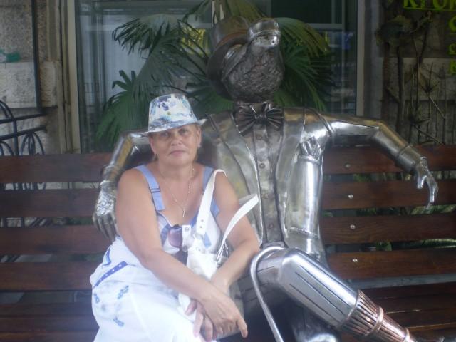 нина, Россия, Суджа, 62 года