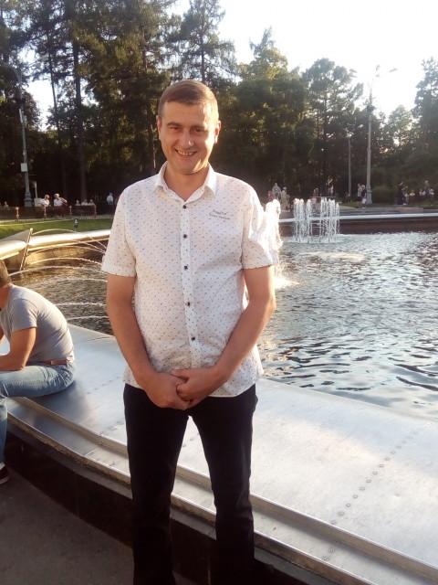 Юрий, Россия, Сураж, 44 года