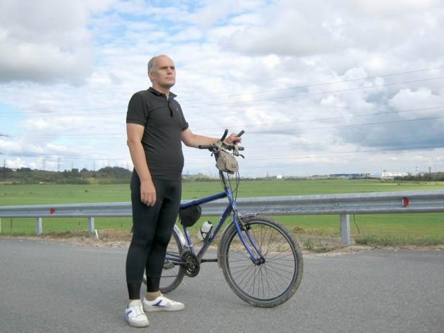 14 августа 2018, катаюсь на велосипеде.