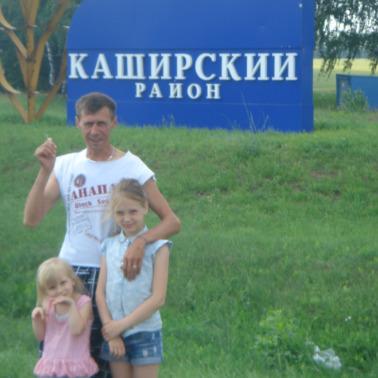 Юрий Попов, Россия, Ожерелье, 43 года
