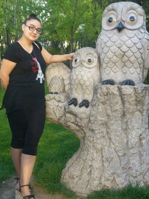 Ольга, Казахстан, Алматы (Алма-Ата), 26 лет, 1 ребенок. Такая как есть ношу очки