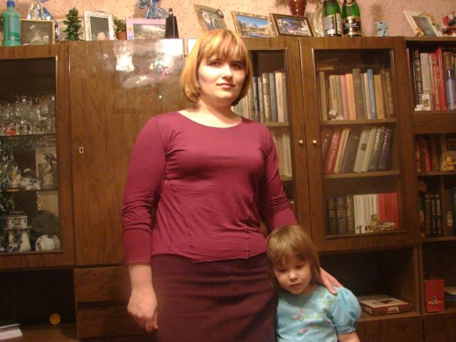 анна, Россия, Кашира, 34 года