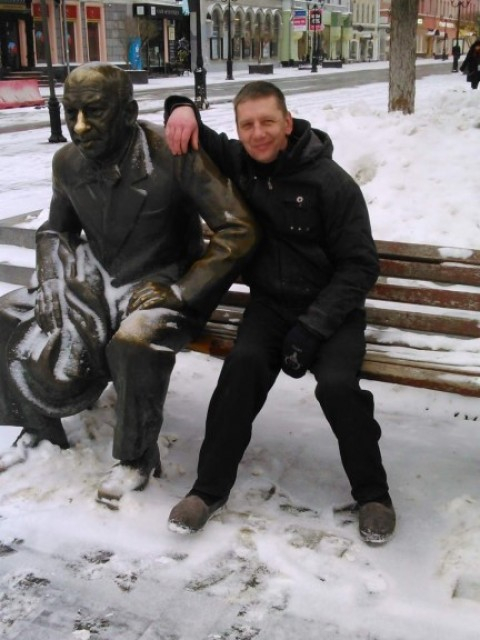 юрий, Россия, Юрьевец, 45 лет