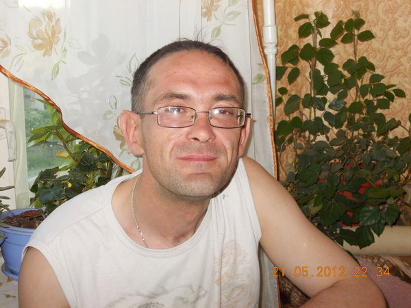 Юра Хорев, Россия, Каменногорск, 42 года