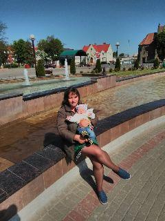 Вероника, Беларусь, Вилейка, 32 года, 1 ребенок. Хочу найти Чтобы любил детей