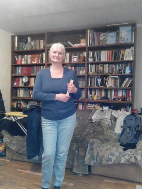 Veronica, Россия, Москва, 63 года, 2 ребенка. Хочу найти Хочу встретить веселого, уверенного мужчину с хорошим отношением к жизни и людям, не закомплексованн