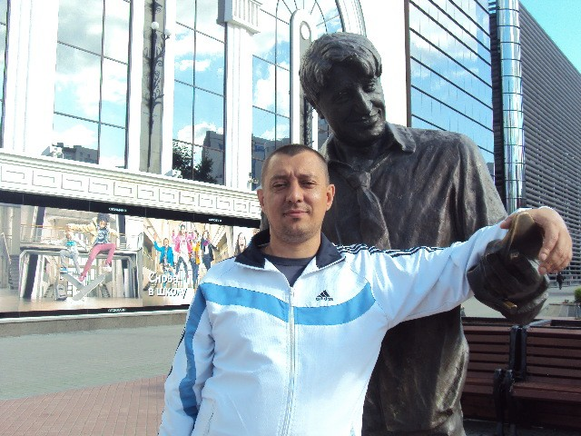 С Геной Букиным в ЕКБ