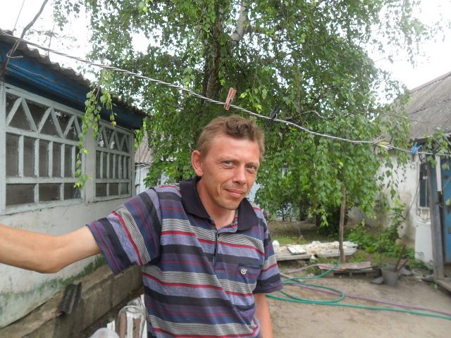 Юрий Грeбeнников, Россия, Богучар, 41 год