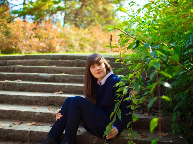 Даша, Россия, Симферополь, 19 лет. Познакомлюсь с хорошим  мужчиной, у которого есть дети. Очень люблю детей и готова заменить им мать