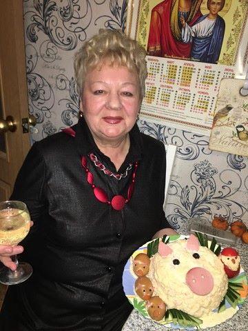Валентина Яковец, Россия, Новосибирск, 68 лет, 2 ребенка. Хочу найти близкого по интересам и возрасту, желательно с л/а