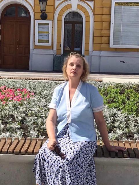 Галина Фадеева, Россия, Нижний Новгород, 60 лет, 2 ребенка. Хочу найти Порядочного, интересного, образованного, свободного.