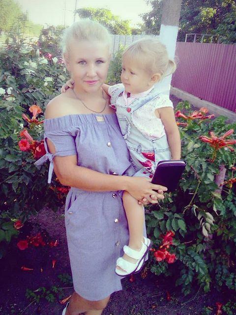 Надежда, Украина, Новоалексеевка, 21 год, 1 ребенок. молодая мама,есть дочь)